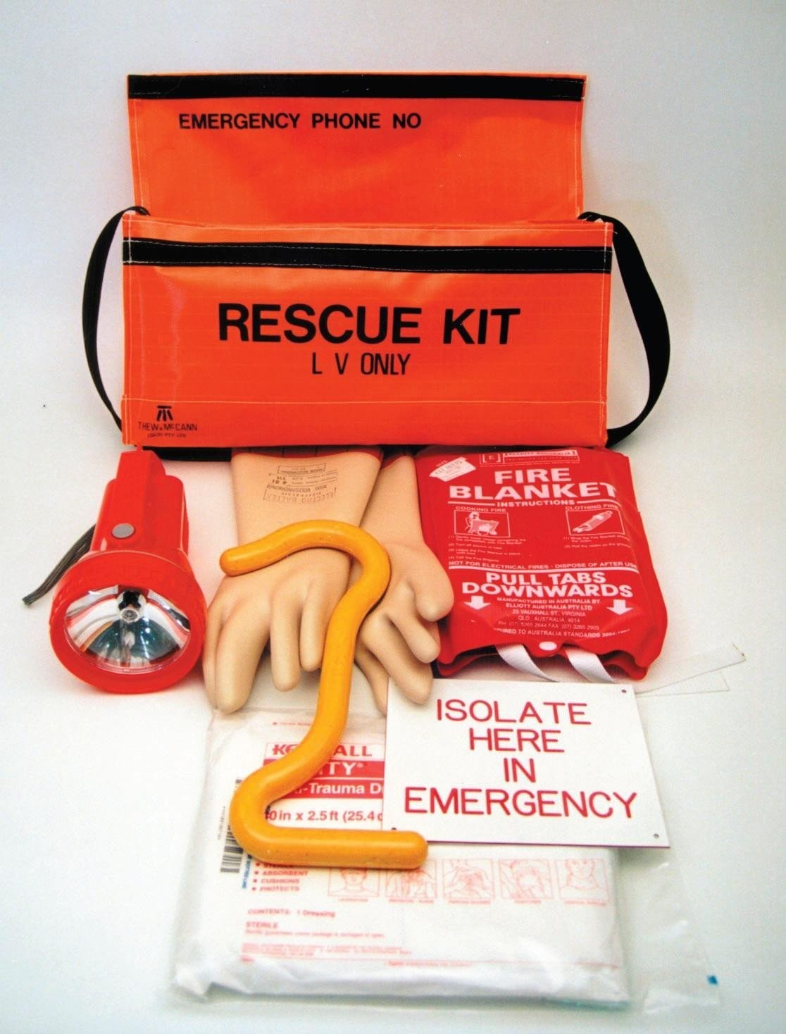 Photo of electrical rescue kit